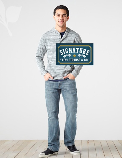 Джинсы SUGNATURE Levi Strauss & CO